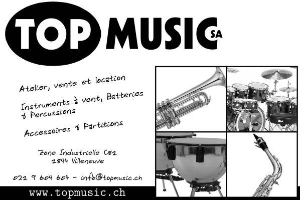 Logo Top Music SA